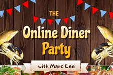 The Online Dinner Party Logo